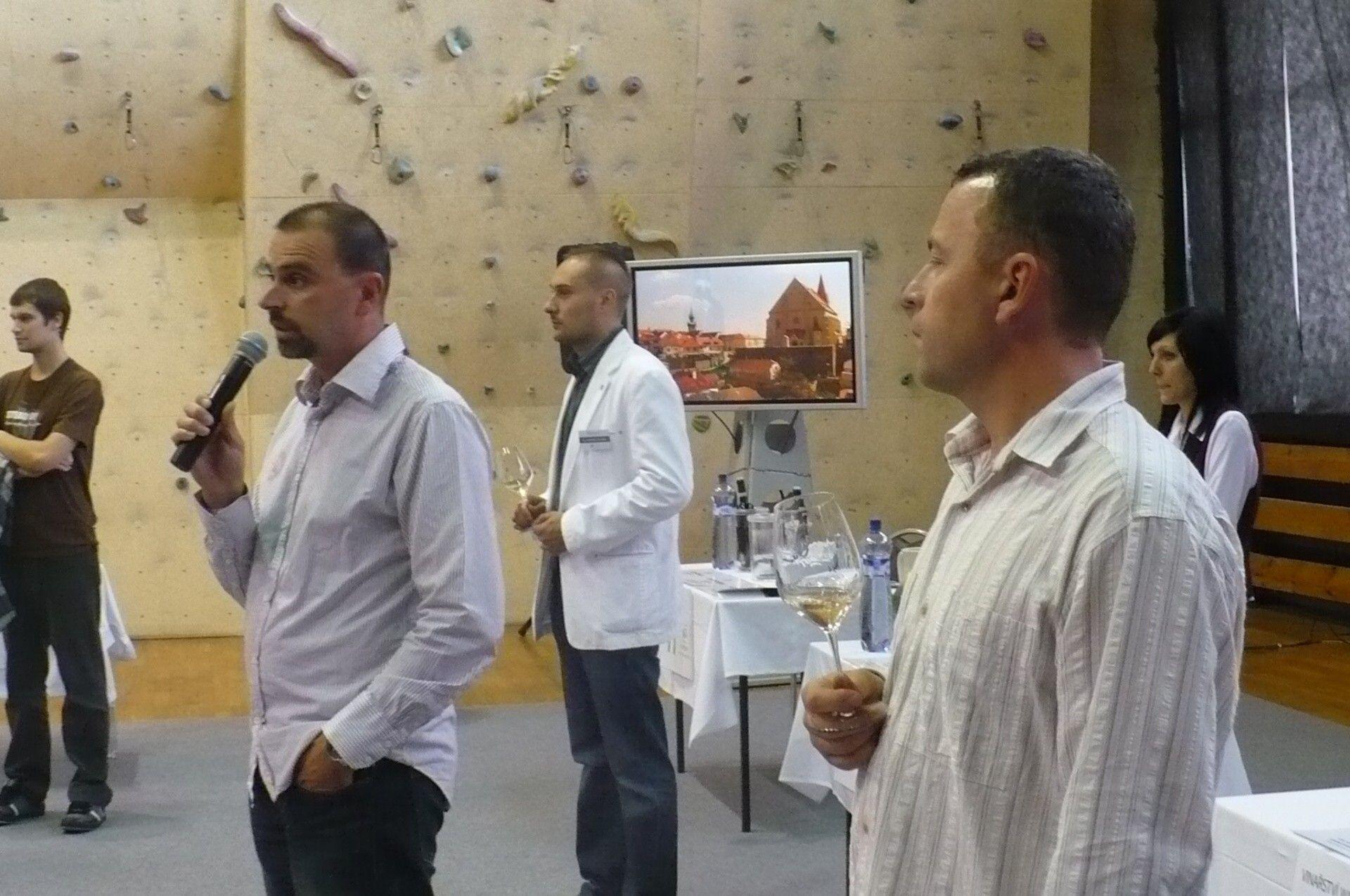 Degustace vín VOC Znojmo při příležitosti Znojemského historického vinobraní