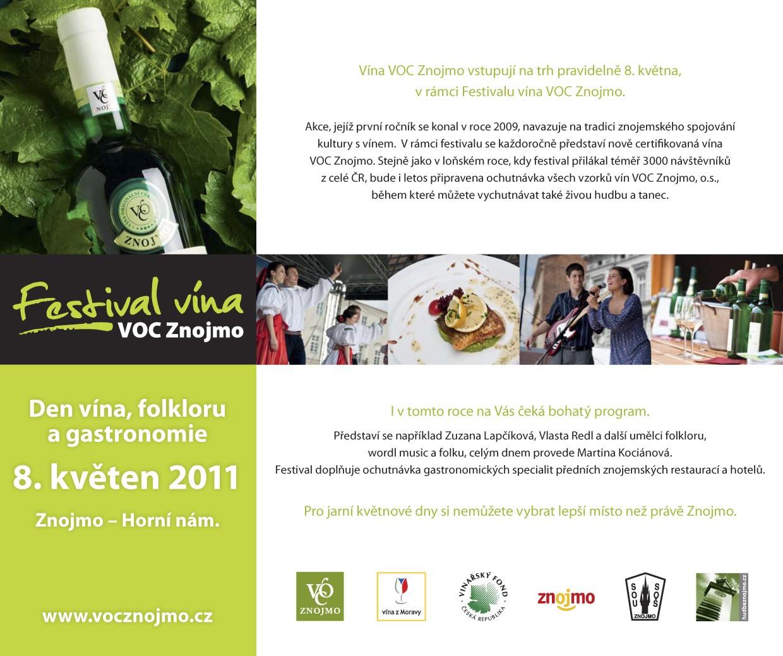 Festival vína VOC Znojmo 2011