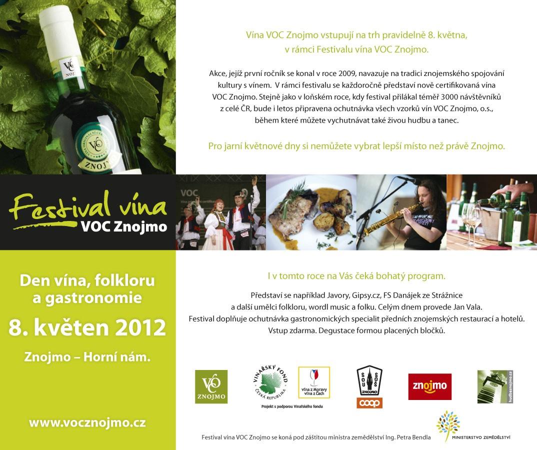 Festival vína VOC Znojmo 2012