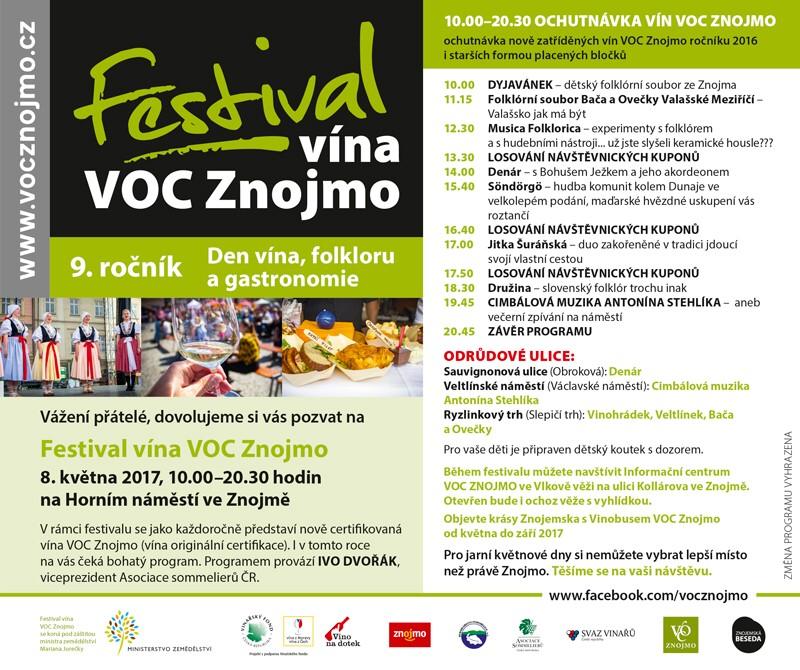 Festival vína VOC Znojmo 2017