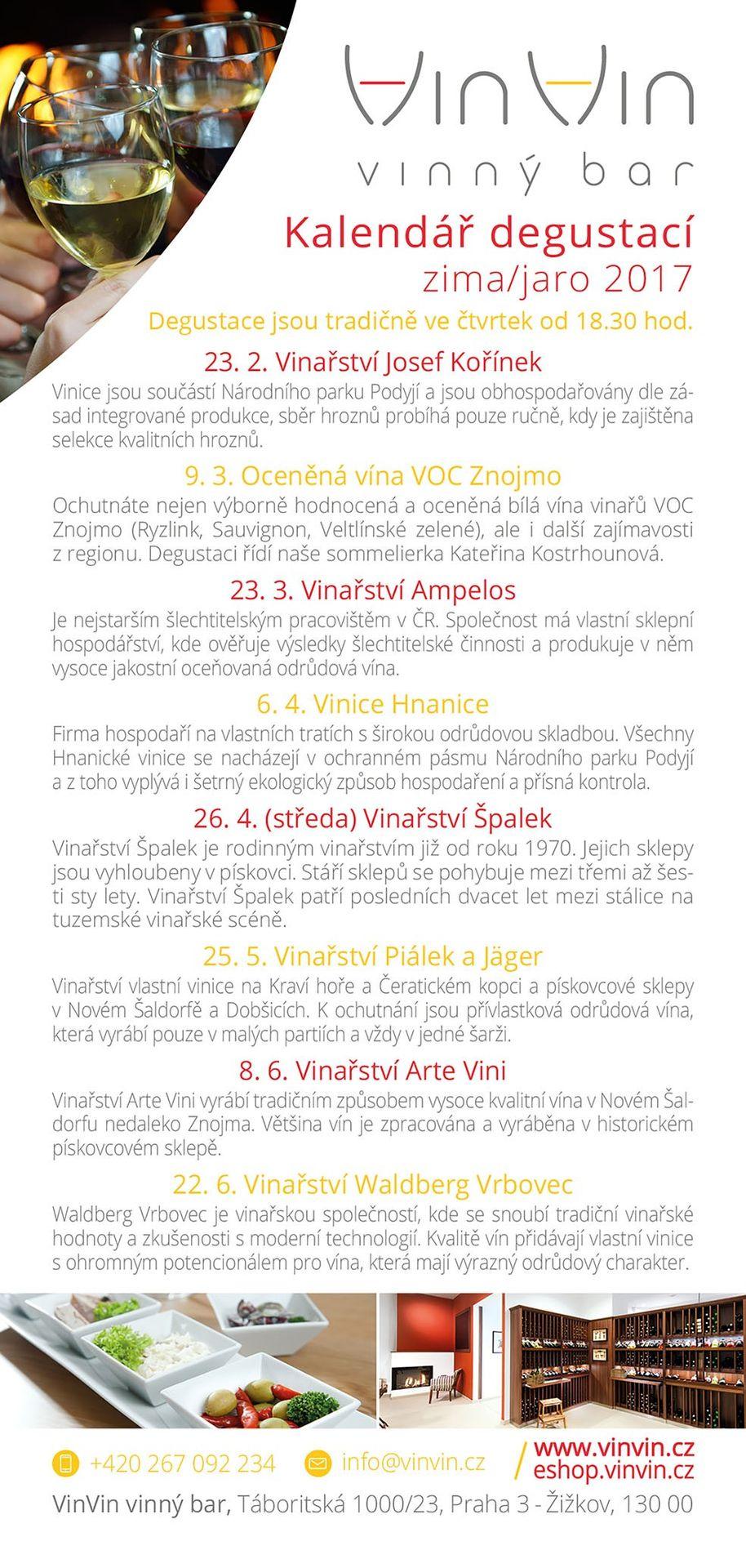 Degustace VinVin