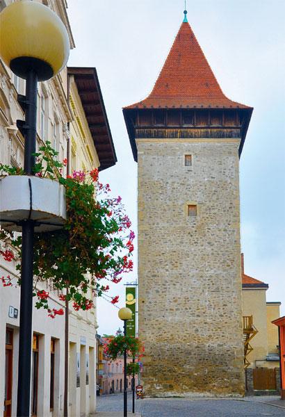 Infocentrum ve Vlkově věži ve Znojmě